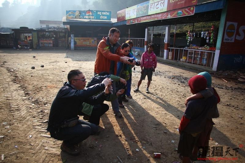 2011.2.2尼泊尔摄影团拍摄花絮