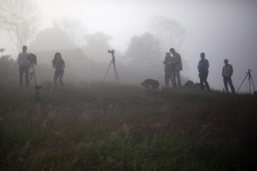 2012.9.27尼泊尓因陀罗节摄影团花絮