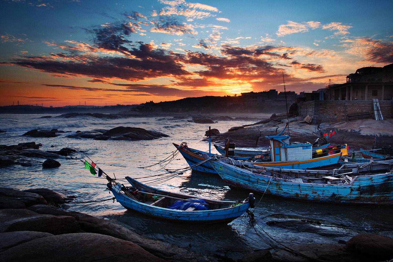 施海滩摄影作品:张家界、福建、桂林