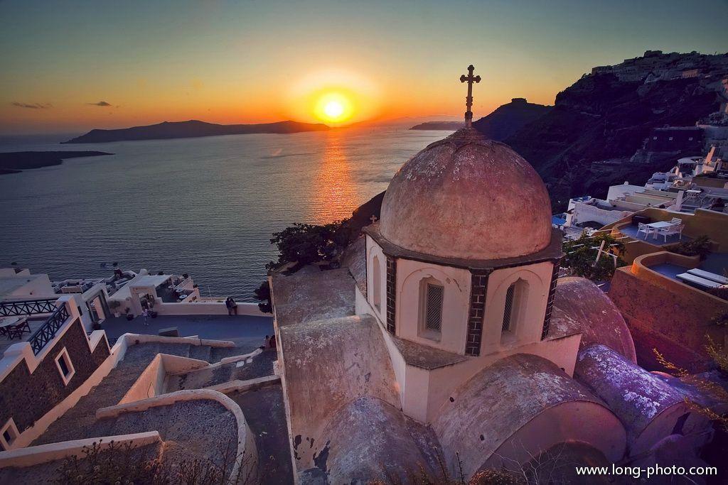 世界另一端的蓝与白——希腊