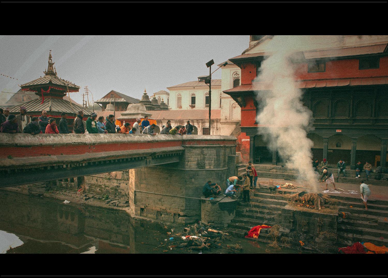 尼泊尔行摄之三——尼泊尔火葬