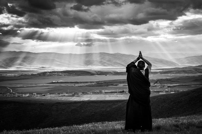 2021.2.21藏历新年—阿坝莫朗节展佛、塔公各日玛大转经摄影团